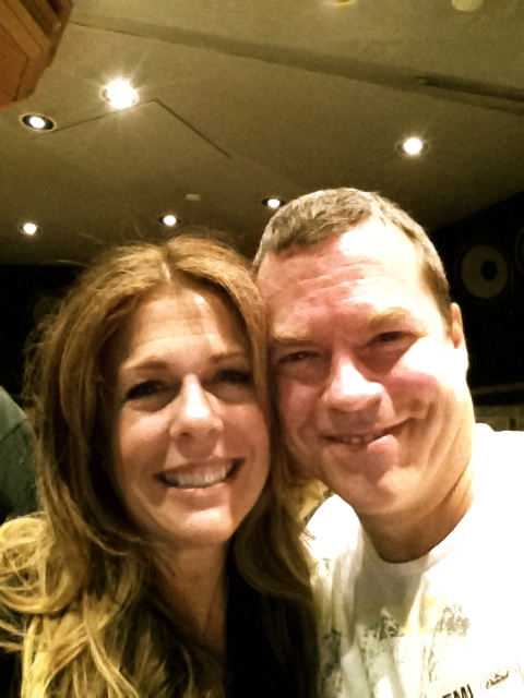 John Willis and Rita Wilson