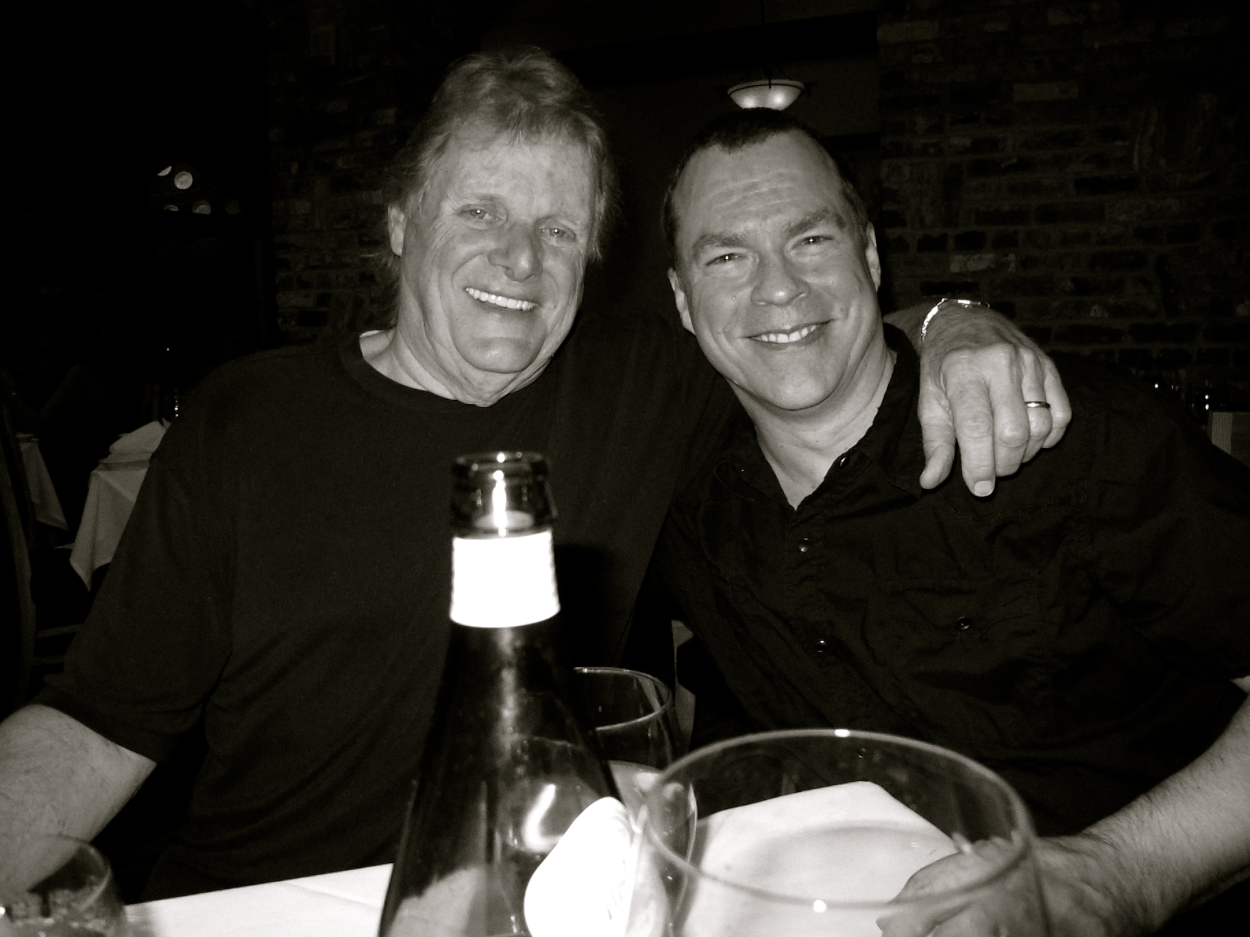 John with friend/hero Reggie Young