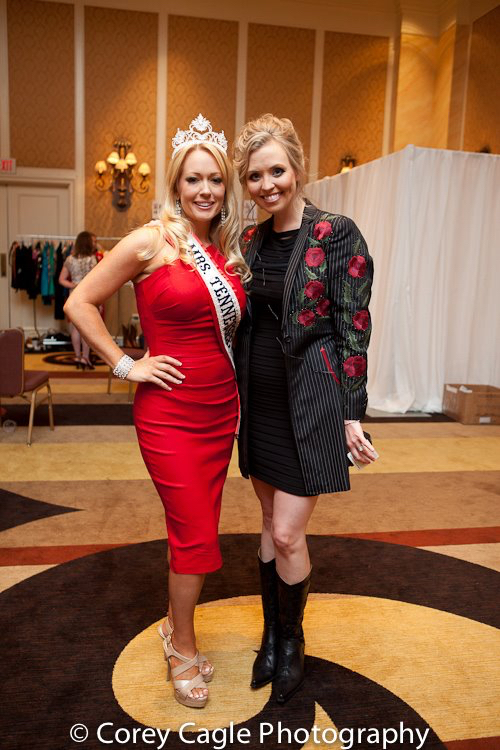 Stephanie Willis with Mrs. Tennessee 2012