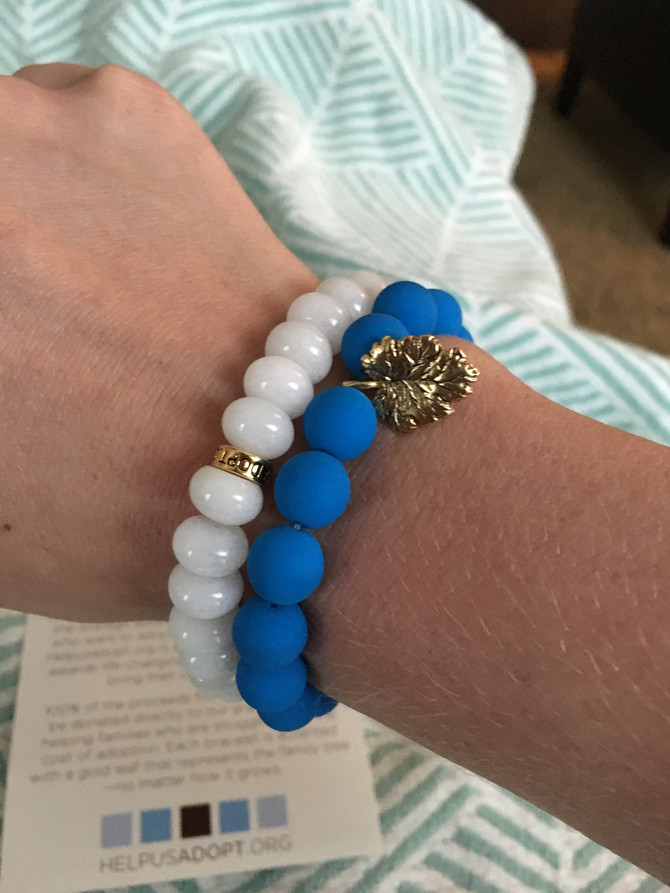 Bracelets Building Families | Blue Is My Color