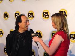 Stephanie Willis interviewing Chris Lord Alge at Pensado Awards