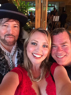 Stephanie Willis, John Willis and Jack Joseph Puig at Pensado Awards