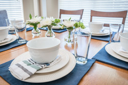 TRADITIONAL TABLE SETTING