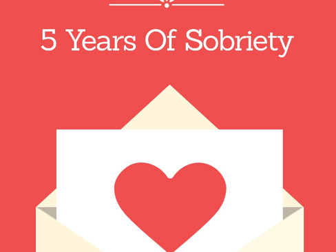 5 Years of Sobriety