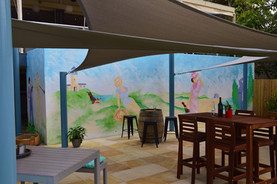 Palm Beach Golf Club Mural