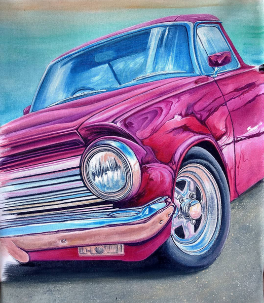"""""""Candy"""" - Acrylic on canvas - 40cm x 60cm"""