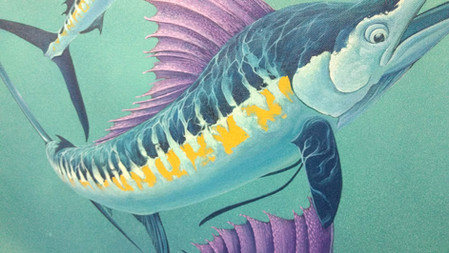 """Detail from """"Ocean Knights"""""""