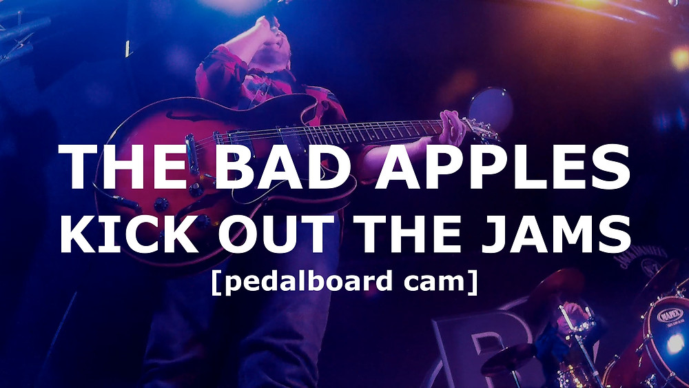 Kick Out The Jams - Pedalboard Cam