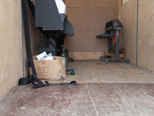 Перевозка широкоформатного принтера весом в 600 кг? Легко!