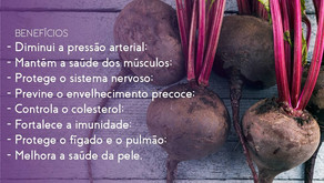 Beterraba - raiz rica em nutrientes