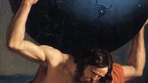O mito de Atlas e a sensação de carregar o peso do mundo nas costas