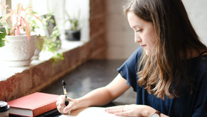 Escrever: a tinta da cura