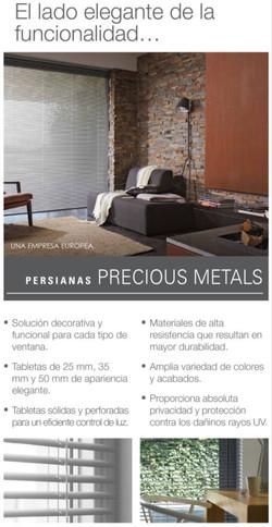 Persianas Precious Metals