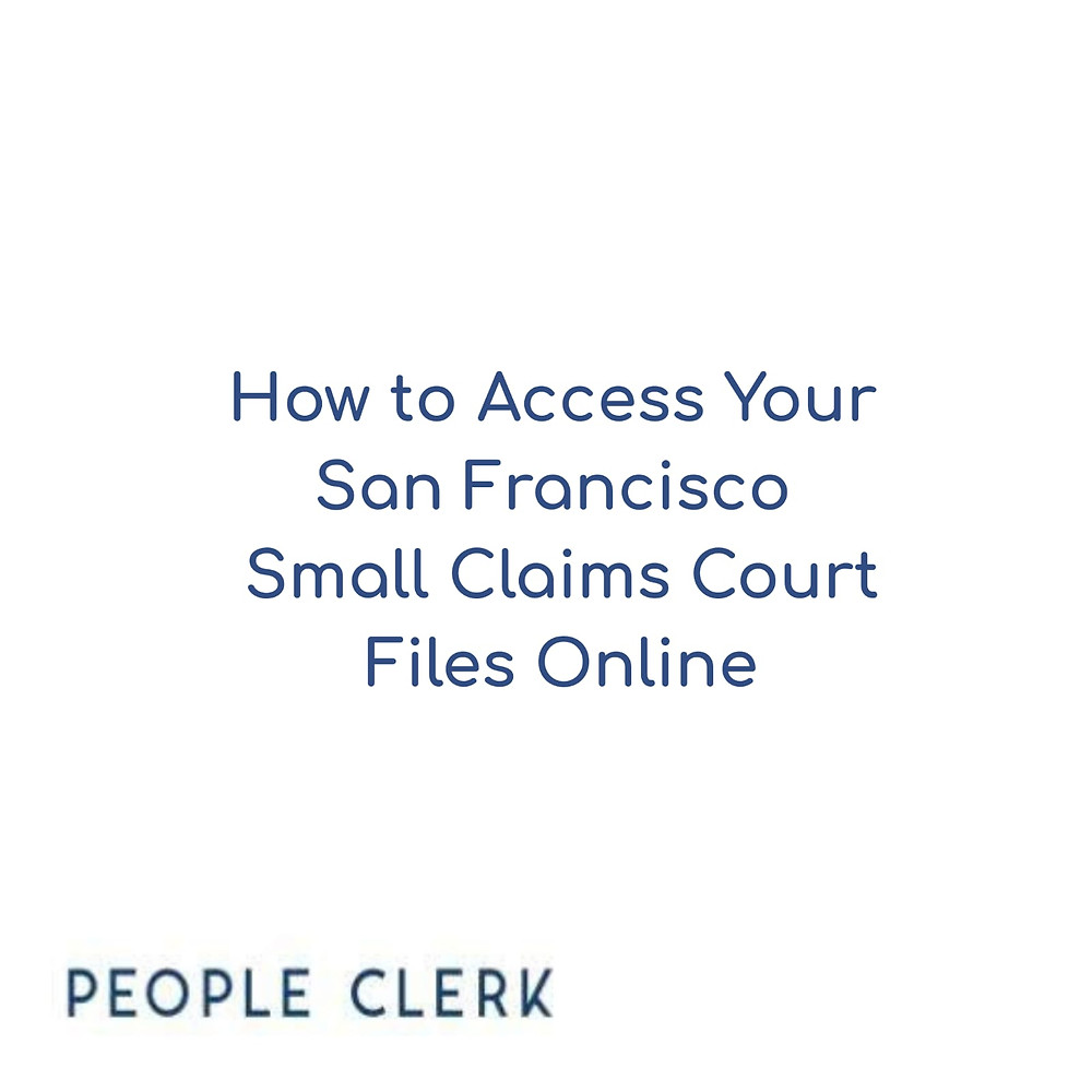 San Francisco Small Claims Court