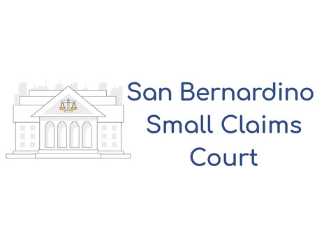 San Bernardino Small Claims Court