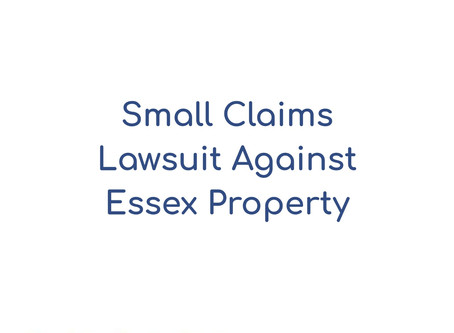 How to Sue Essex Apartments in Small Claims Court