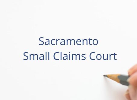 Sacramento Small Claims Court