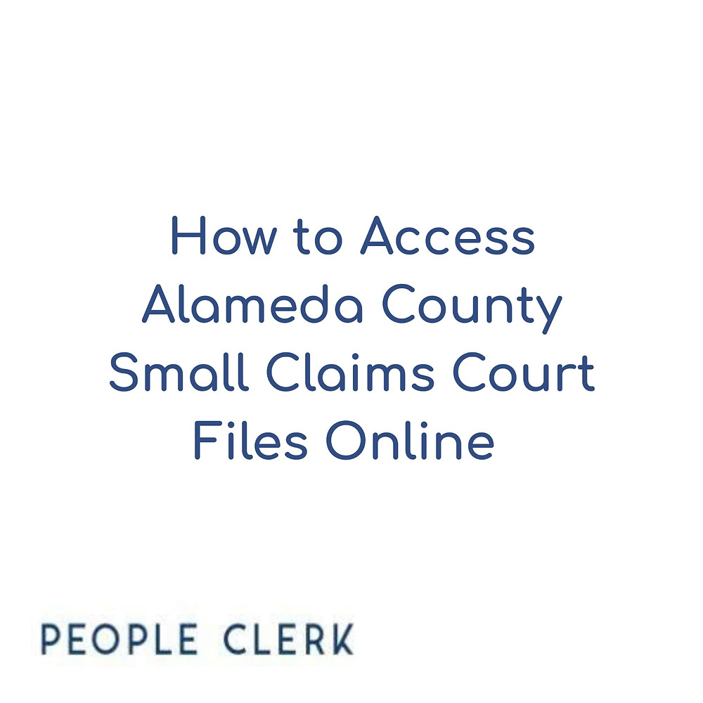 Alameda Small Claims Docket