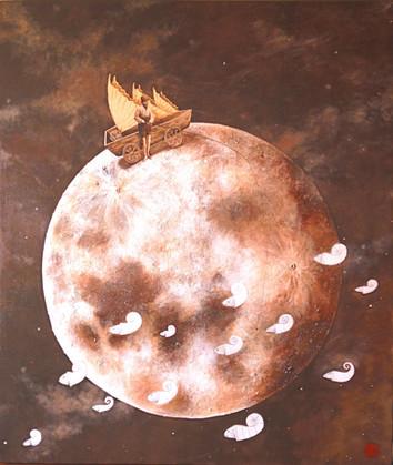 Día de pesca en los mares lunares