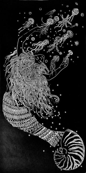 Lasirena que se enamoró de las medusas
