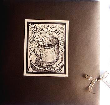 Carpeta de grabado OLOR A CAFÉ