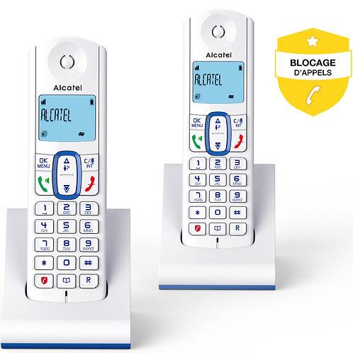 Telephone fixe sans fil Alcatel F630 DUO