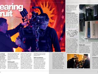 Tartan 14- Far From the Apple Tree - DigitalFilmmaker Magazine Spread