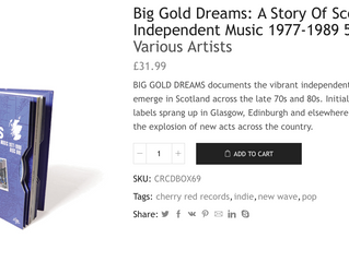Big Gold Dreams - Soundtrack CD Box