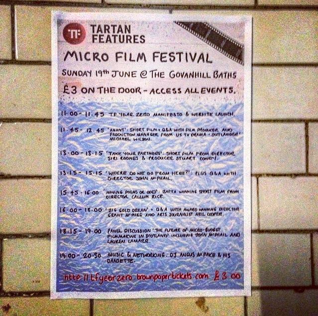 Tartan Features DIY Feature Film Festival