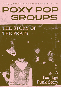 Poxy Pop Groups The Prats Tartan Feature