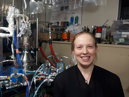 Cardiff University Student Studies Ammonia in Japan