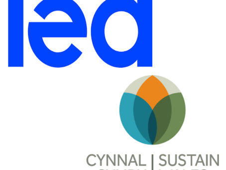 Recent acknowledgement - Sustain Wales and IEA