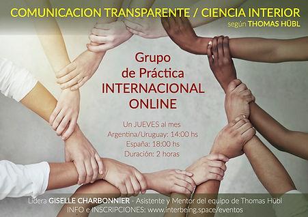 GRUPO de PRACTICA INTERNACIONAL ONLINE -