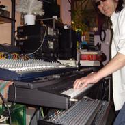 Claude on keyboards (4).JPG