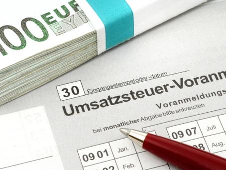 Elektronische Übermittlung der Umsatzsteuervoranmeldung