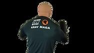 T-shirt nodig tijdens de zelfverdedigingslessen van Centurion Self Defence
