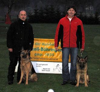 Erfolg für 2 Wolfsgrübler in Radolfzell-Böhringen