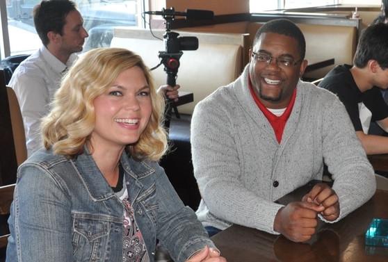 Lauren and Jerome looking good:)