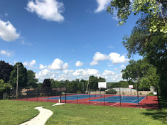 PATH TO TENNIS COURTS