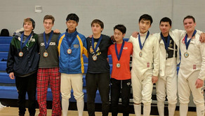 William Wang, CMH, is one of the top youth fencers in Wisconsin