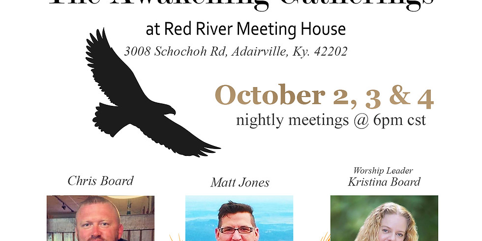 Awakening Gatherings at the Red River Meeting House