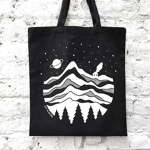 Space Cabin Tote Bag