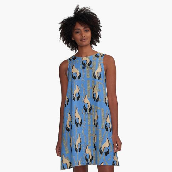 DENIM wear A-Line Swing Dress