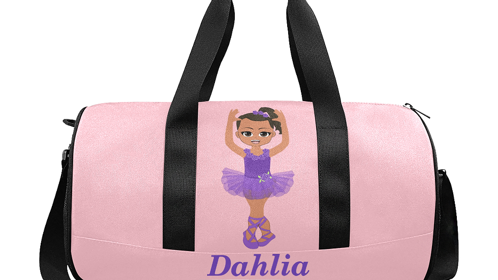 Dahlia's Ballerina Duffle Bag - Customizable