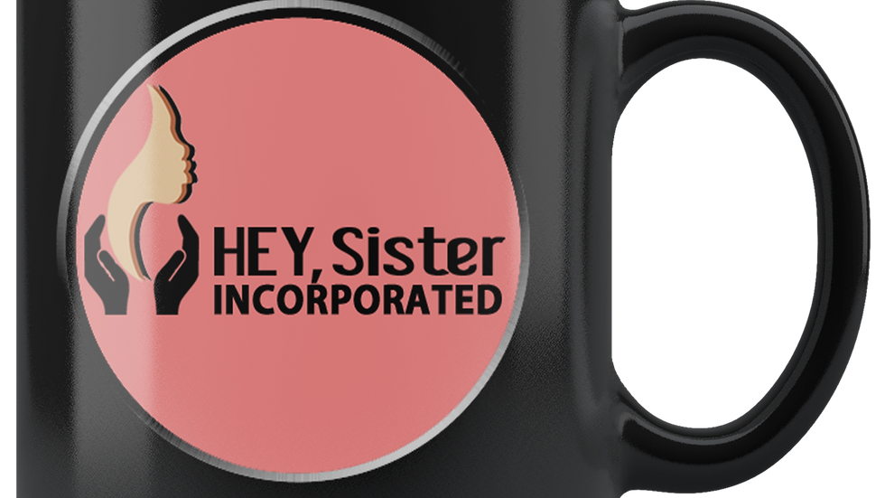 HEY, Sister.org  Logo Mug