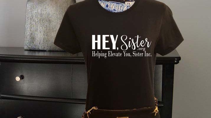 HEY, Sister.org  Logo Women's Tee