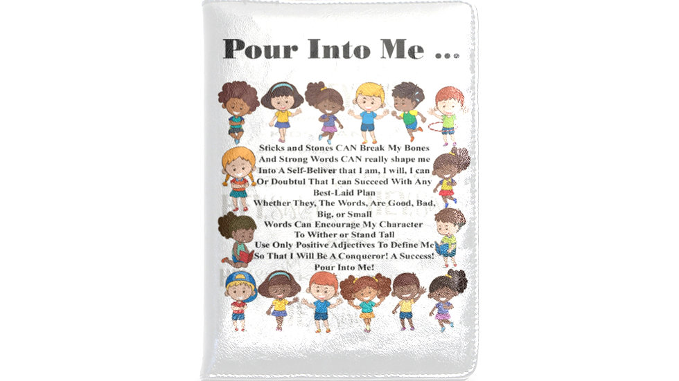 Pour Into Me Refillable A5 Notebook and Cover
