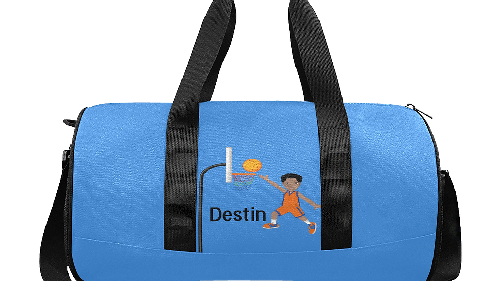 Destin's Basketball Layup Duffle Bag - Customizable