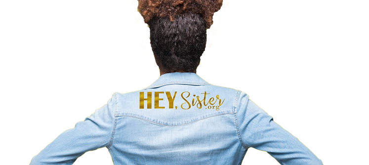 lady in denim jacket with hey sister.png
