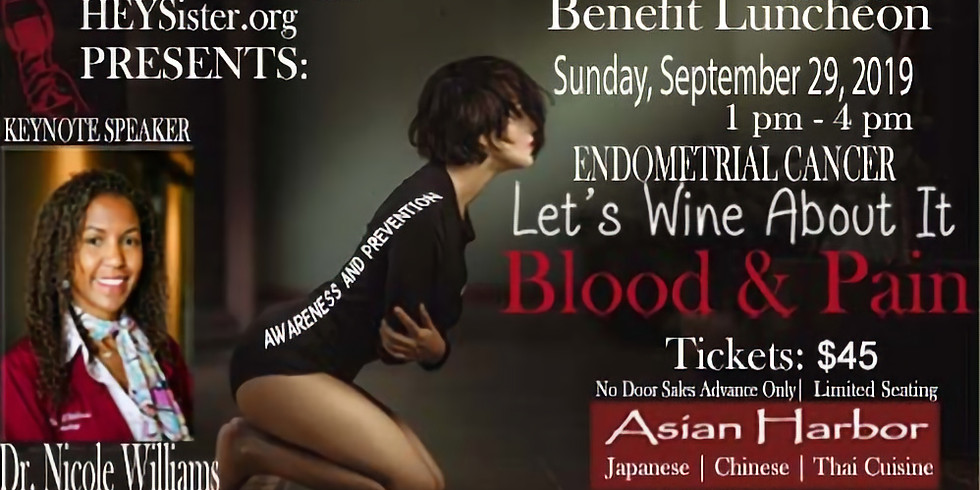 """Let's Wine About It """"Blood & Pain"""" Luncheon"""